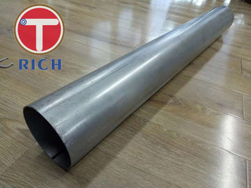 China Do tubo de aço de aço do tubo 101.6mm OD de ASTM tubos automotivos soldados A554 do sistema de exaustão fábrica